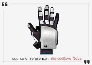 """VR Gloves """"SenseGlove Nova"""""""