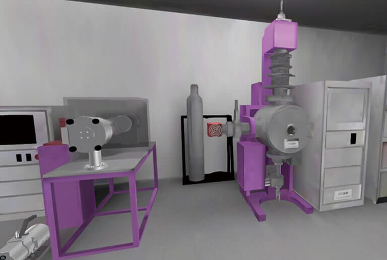 Modeling a real laboratory